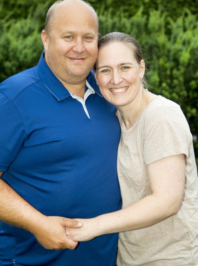 KONA REAGERTE: Det er snart fire år siden Marion første gang reagerte på ektemannens oppførsel. I mai fikk familien sikker beskjed om at han er i ferd med å bli rammet av demens, med Alzheimers. Foto: Svend Aage Madsen / Se og Hør
