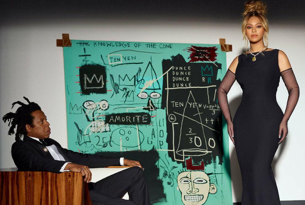 KRITISERES: Jay-Z og Beyoncé har gjort en kampanje med Tiffany & Co. Foto: Tiffany & Co.