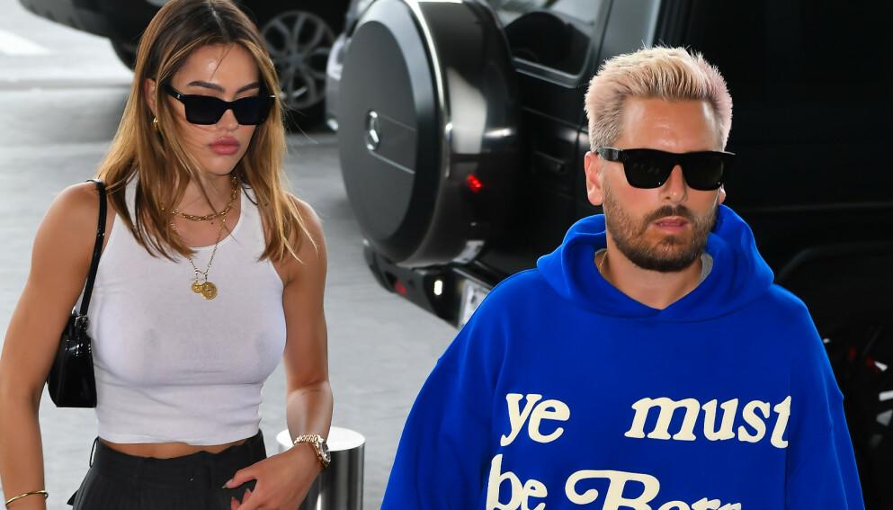 DRAMA: Forrige uke skapte Scott Disick overskrifter etter at han skal ha sendt Kourtney Kardashians ekskjæreste et bilde av sistnevnte og kjæresten Travis Barker. Foto: Splash News / NTB