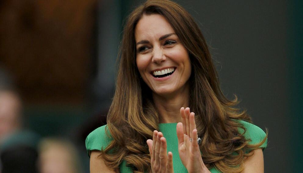 HVOR ER KATE?: Hertuginne Kate har de siste månedene holdt en svært lav profil. Hun har faktisk ikke vist seg offentlig på mange uker. Her i begynnelsen av juli. Foto: Shutterstock/NTB