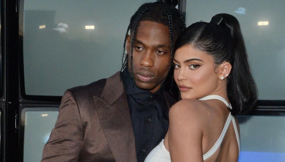 VENTER BARN: Travis Scott og Kylie Jenner skal bli foreldre for andre gang. Foto: Jim Ruymen/UPI/Shutterstock/NTB