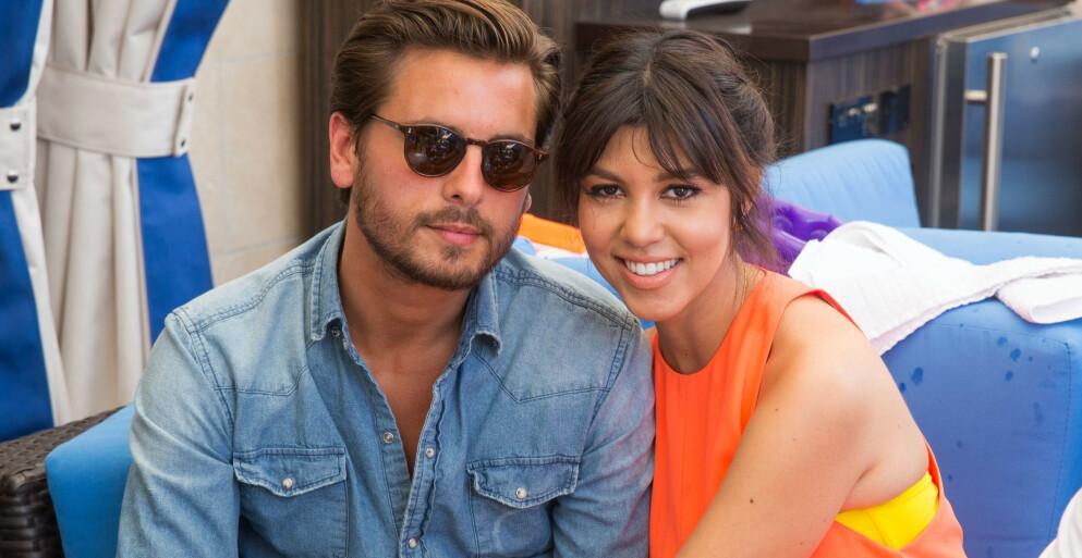 - HADDE IKKE TROEN: Ifølge kilder trodde ikke Kourtney Kardashians at eksen Scott Disicks forhold til Amelia Gray Hamlin kom til å vare. Foto: Mediapunch / REX / NTB