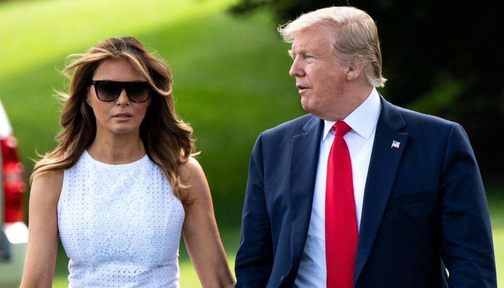 NY BOK: En av dem som jobbet tettest med Trump-ekteparet skal nå gi ut avslørende bok. Foto: Kevin Dietsch / Shutterstock / NTB