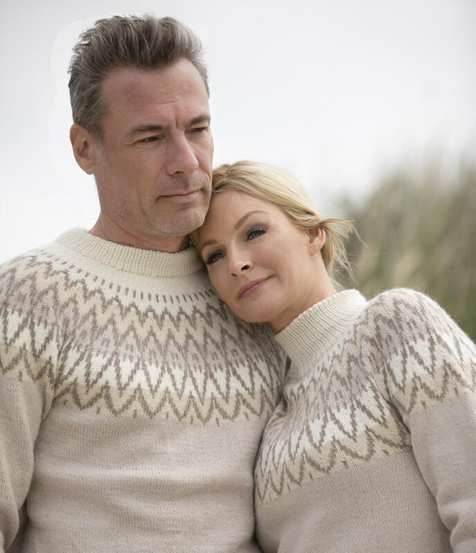 ET NØDVENDIG BRUDD: TIl KK åpner Kathrine og Andreas opp om bruddet og familiegjenforeningen. Foto: Arild Hjelm / Studio Hjelm