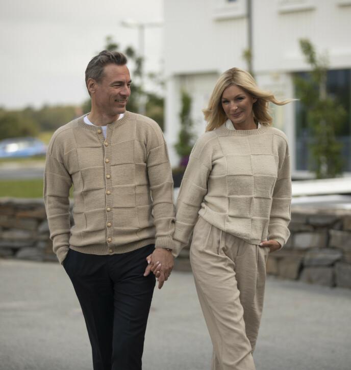 FORELSKET: Etter tre års separasjon er Andreas Holck og Kathrine Sørland sammen igjen. Foto: Arild Hjelm / Studio Hjelm