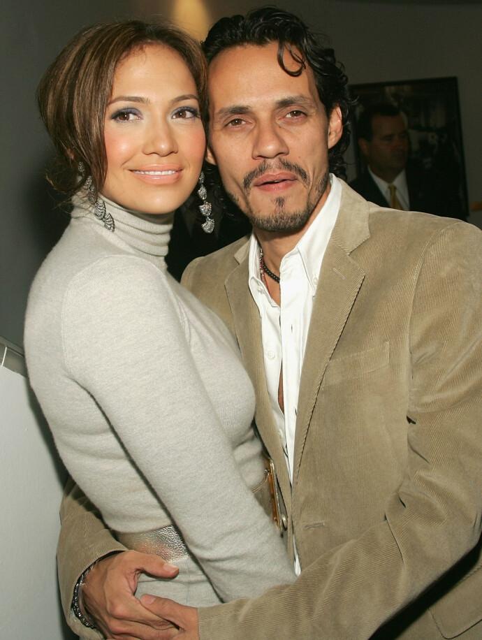 NY MANN: Jennifer Lopez og ektemannen Marc Anthony i september 2005. Foto: Evan Agostini / Getty Images / NTB