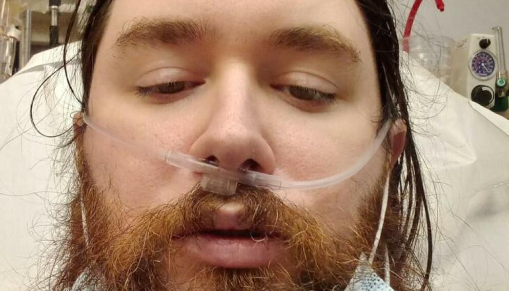 DØDE: Brandon Ashur døde nylig etter å fått påvist coronaviruset. Foto: @ToastyTime / Twitter