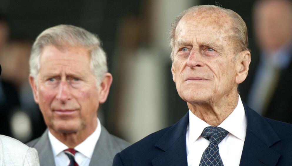 SAMTALE DAGEN FØR: Prins Charles forteller at han snakket med faren dagen før han døde. Foto: Tim Rooke/REX/NTB