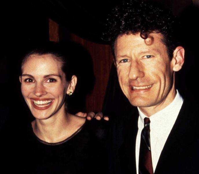 DEN GANG DA: Julia Roberts og Lyle Lovett i 1993. Foto: Bei/REX/Shutterstock/NTB