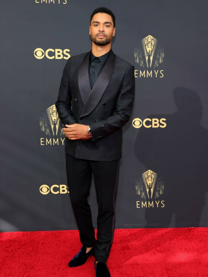 HOLLYWOOD-HUNK: Skuespiller Regé-Jean Page. Foto: Rich Fury / Getty Images / AFP / NTB