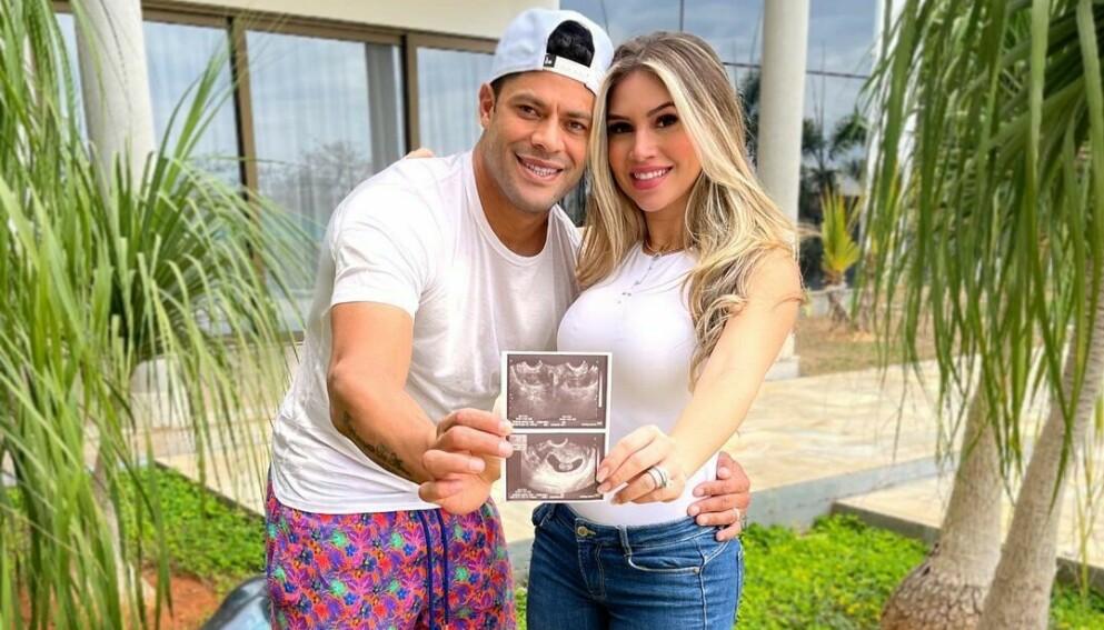 FORELDRE: Hulk og kjæresten Camilla skal bli foreldre. Foto: Instagram/Hulk