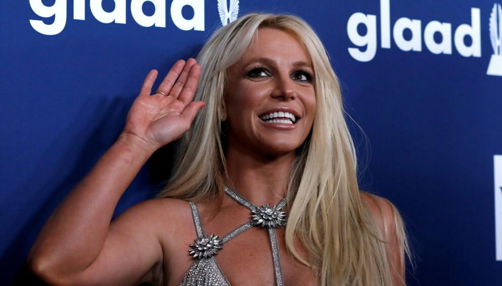 TILBAKE: Britney Spears' pause fra sosiale medier varte ikke mer enn en liten uke. Foto: Reuters/Mario Anzuoni/File Photo/NTB