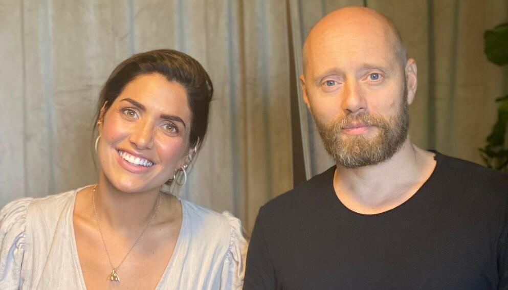 DELER ÆRLIG: Aksel Hennie deler ærlig fra eget sexliv i Iselin Guttormsens podkast. Foto: Podimo