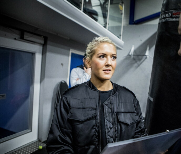 REAGERER: Klara Svensson. Foto: Christian Roth Christensen / Dagbladet