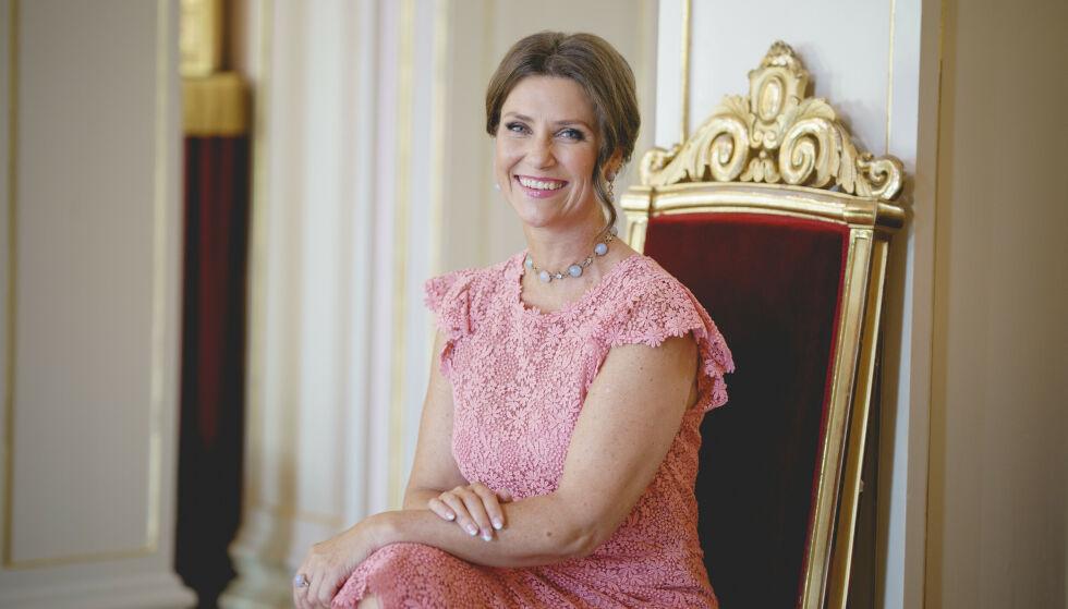 50 ÅR: Prinsesse Märtha Louise fyller 50 år 22. september. Flere hyller prinsessen på den store dagen. Foto: Stian Lysberg Solum / NTB