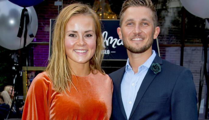 DANSEPARTNERE: Helene Olafsen og Jørgen Nilsen ble kjærester etter å ha vært dansepartnere i «Skal vi danse». Foto: Tore Skaar / Se og Hør