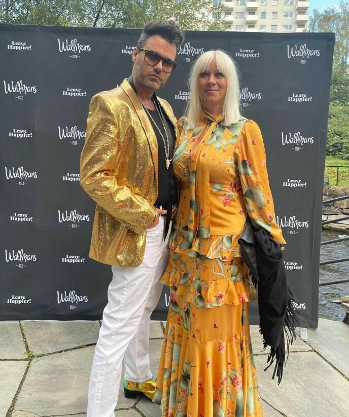 Marian Aas Hansen og Zelimir Kulisic. Foto: Sofie Losen.