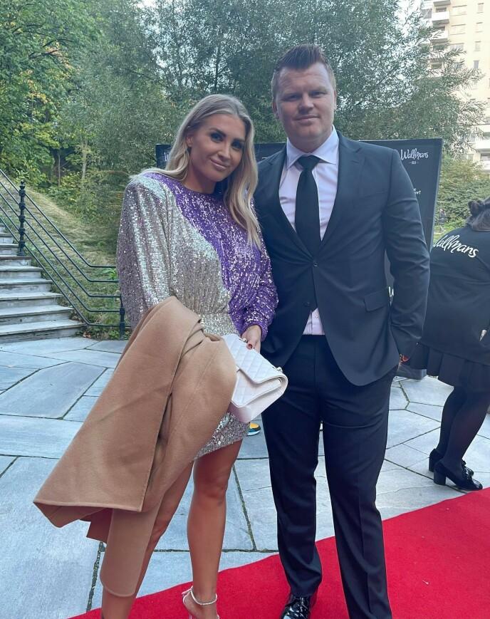 Louise Angelica Riise og John Arne Riise. Foto: Sofie Losen.