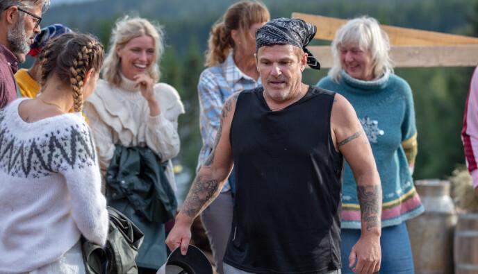 FORNØYD: Bussjåfør, amerikaner og Tik Tok-stjerne Robert Michael Scott var en fornøyd mann etter å ha vunnet søndagens tvekamp. Foto: Alex Iversen / TV 2