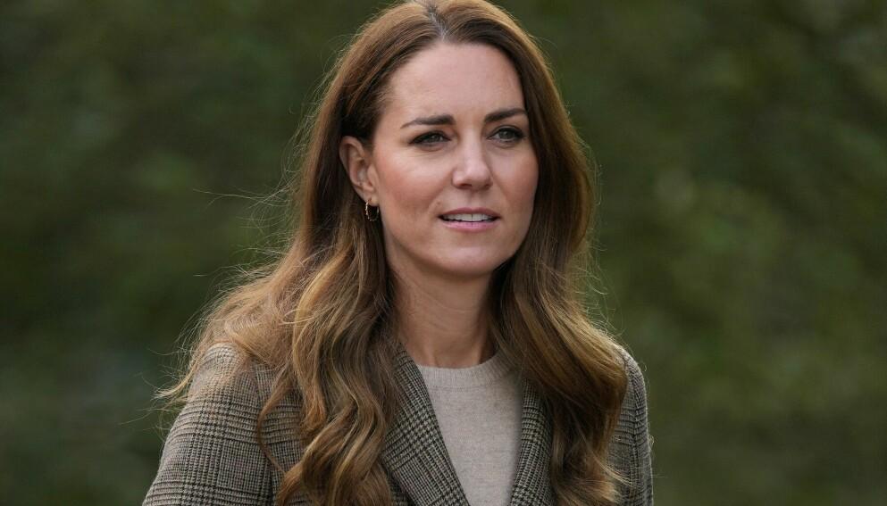 RYSTET: Hertuginne Kate delte en personlig melding på Twitter, etter at en kvinne ble funnet død forrige uke. Foto: Shutterstock Editorial / NTB