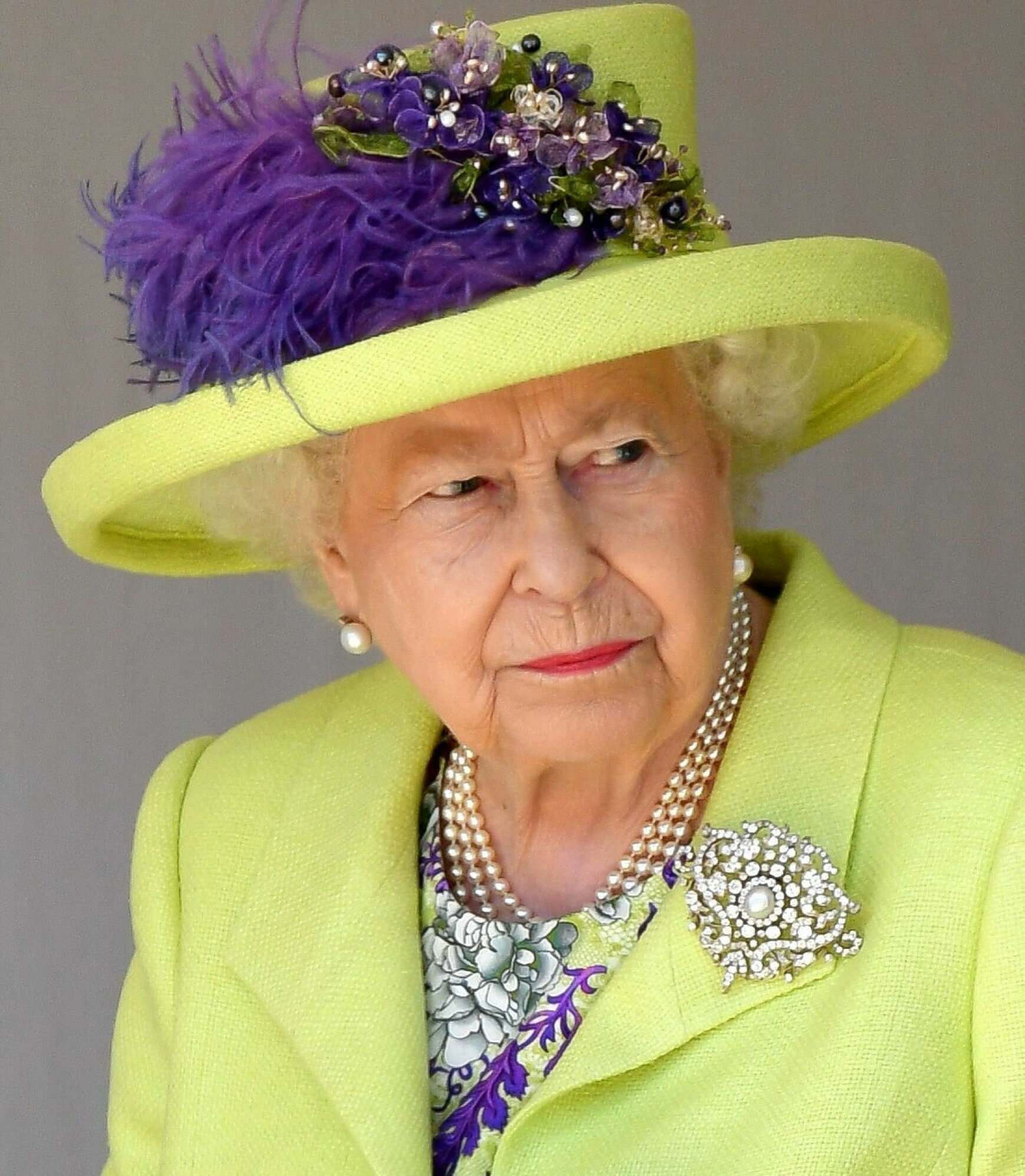 FIKK NOK: Dronning Elizabeth skal ha fått nok av oppførselen til Meghan før vielsen. Foto: REX / NTB