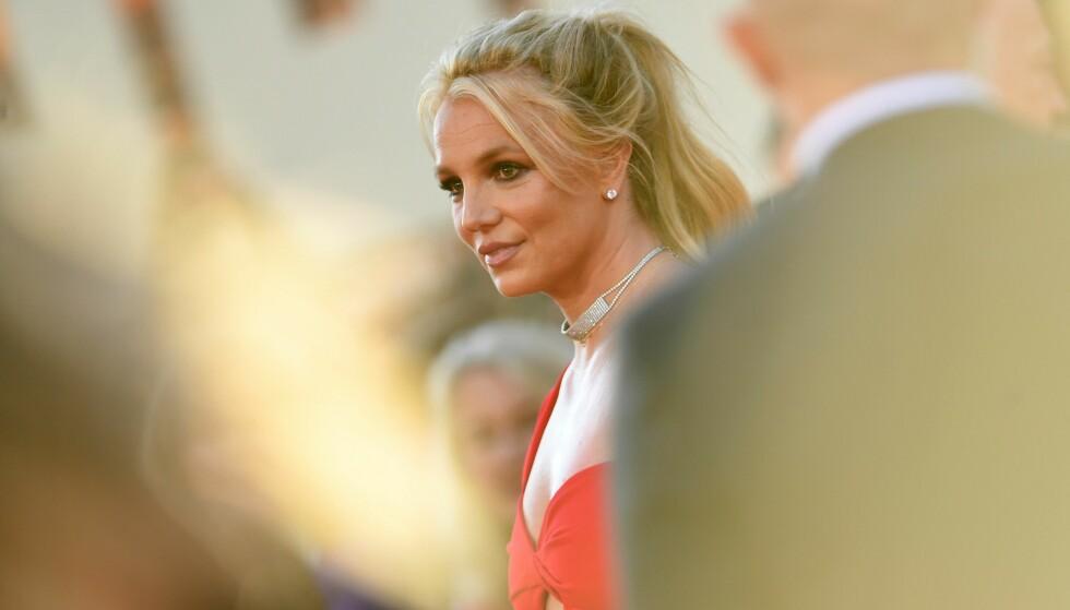 HØRING: Det var i dag duket for nok en høring om Britneys omstridte vergemål. Foto: VALERIE MACON/AFP/NTB