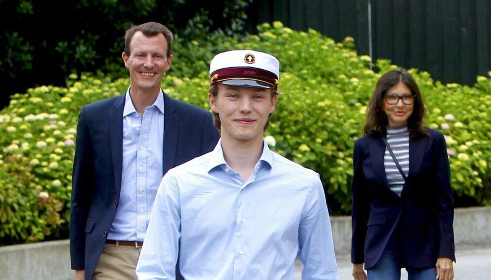 DROPPET UT: Prins Felix har avsluttet militærstudiet. Foto: Christophersen/Shutterstock/NTB