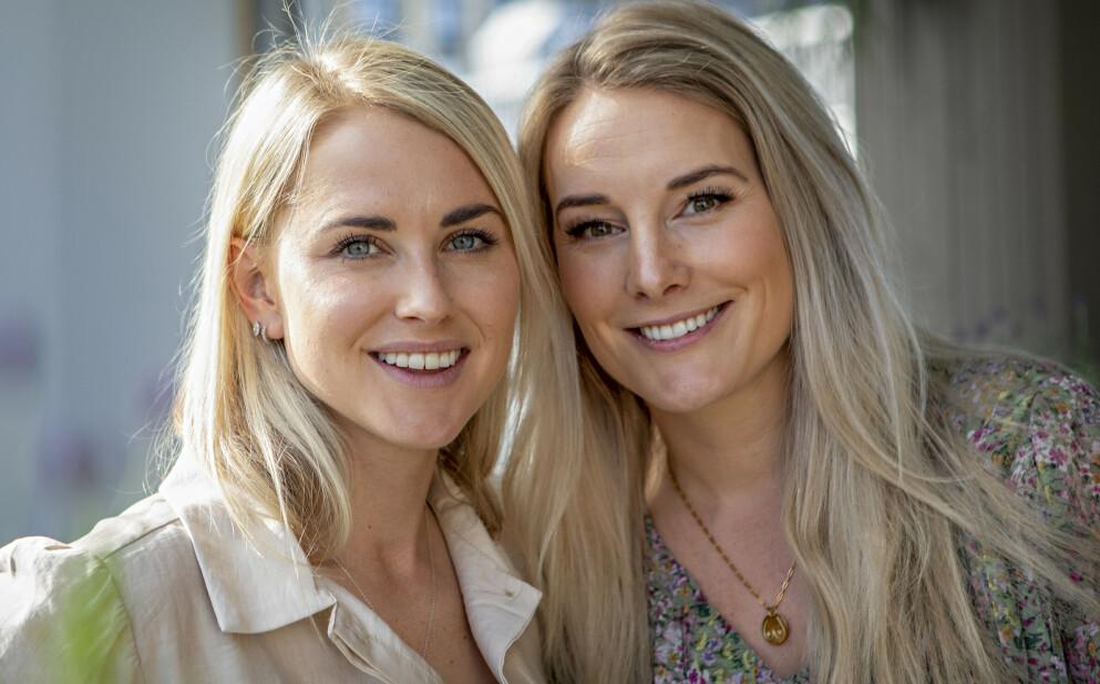 MØDRE: Tonje og Lene er endelig blitt mødre for første gang. Foto: Frank Karlsen / Dagbladet