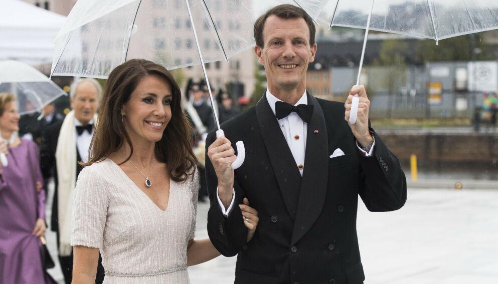 NY JOBB: Prinsesse Marie har fått ny jobb i Paris. Her med prins Joachim i Oslo i 2017. Foto: Jon Olav Nesvold/NTB