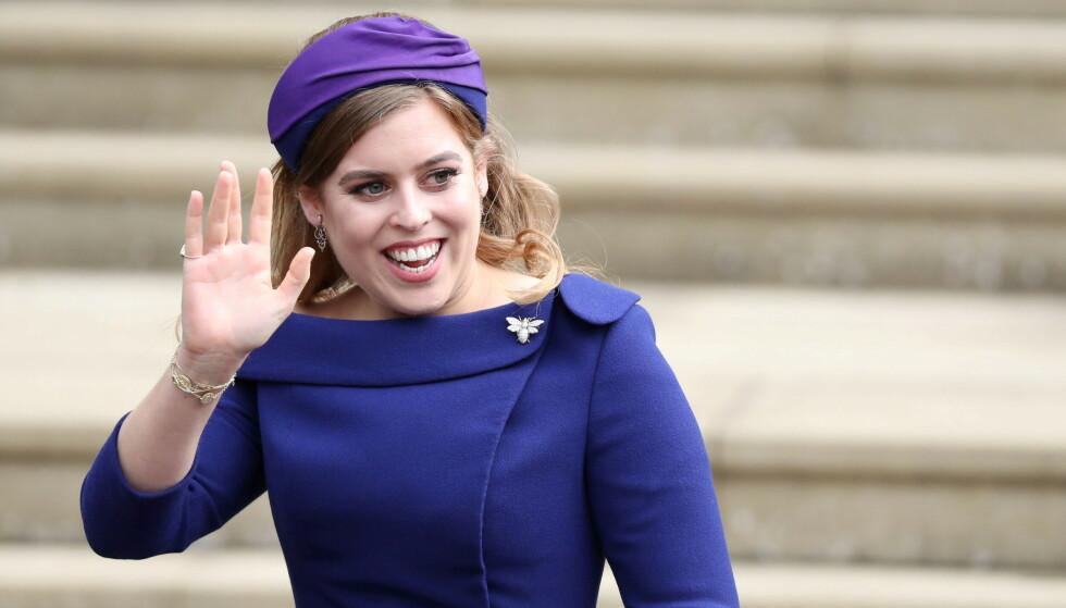 BLE MAMMA: Prinsesse Beatrice og ektemannen fikk nylig ei datter. Foto: Steve Parsons/Reuters/NTB