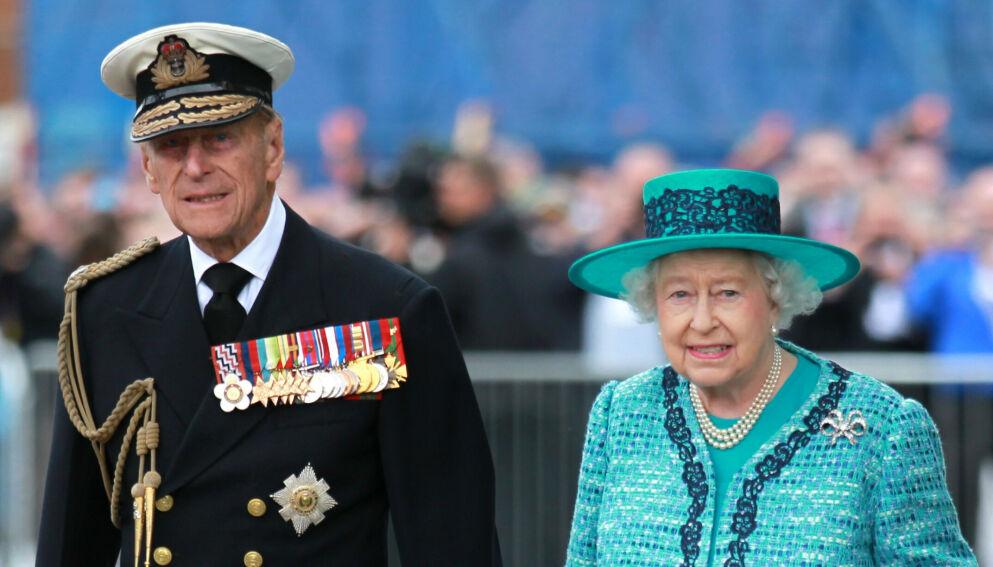 I SORG: Prins Philips bortgang etterlot dronning Elizabeth i sorg. Nå deler hun et av minnene deres. Foto: Andrew Milligan/Pa Photos/NTB