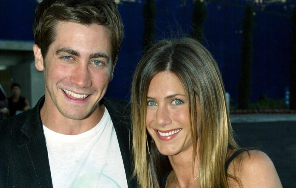 HOLLYWOOD-STJERNER: Jake Gyllenhaal og Jennifer Aniston fikk et spesielt forhold da de spilte sammen i «The Good Girl». Foto: Alex Berliner/BEI/REX/NTB