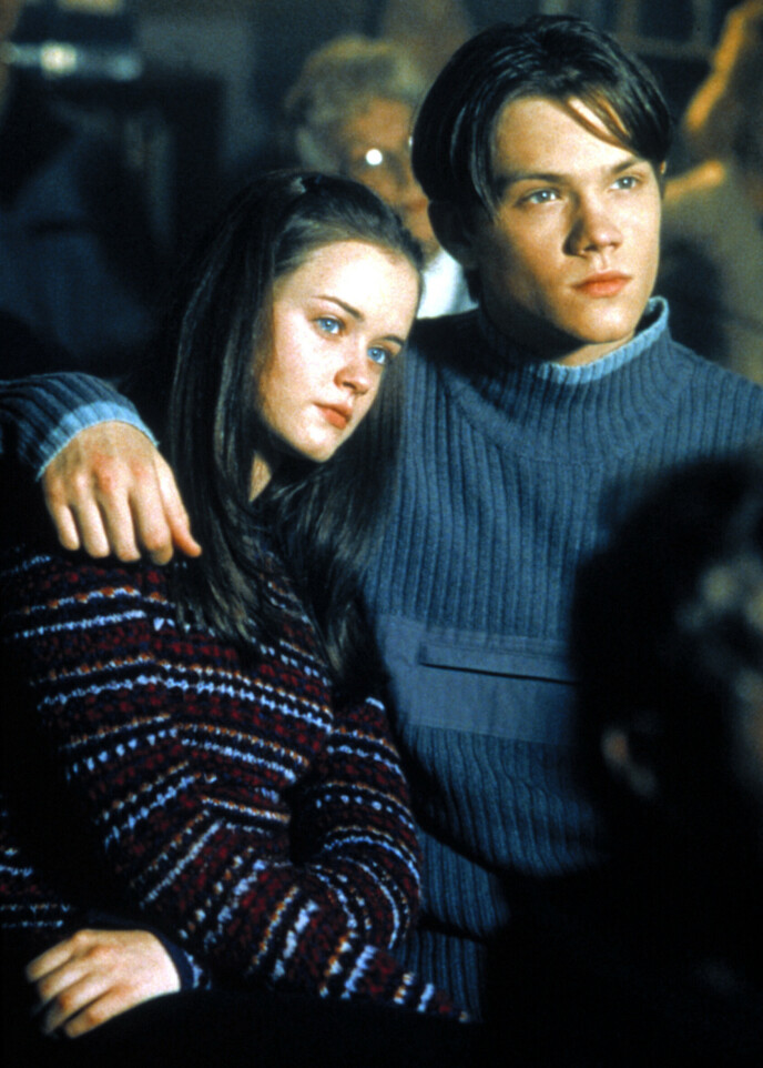 IKONISK PAR: Alexis Bledel og Jared Padalecki i «Gilmore Girls». Foto: Warner Bros/Everett Collection/NTB