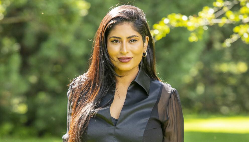 MOTTAR HETS: Sanna Khursheed forteller at hun mottar massiv hets på sosiale medier. Foto: Tor Lindseth / Se og Hør