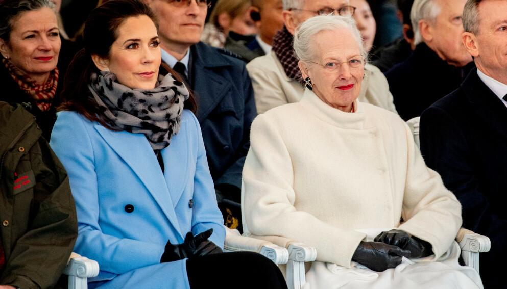 PÅ OPPDRAG: Dronning Margrethe får endelig gjennomført en utsatt reise. Foto: Robin Utrecht / Shutterstock Editorial / NTB