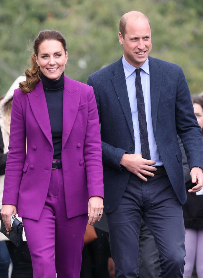 VAR FØRST VENNER: Hertuginne Kate og prins Williams forhold startet som et vennskap før det ble til noe mer. Foto: Chris Jackson / Pa Photos / NTB