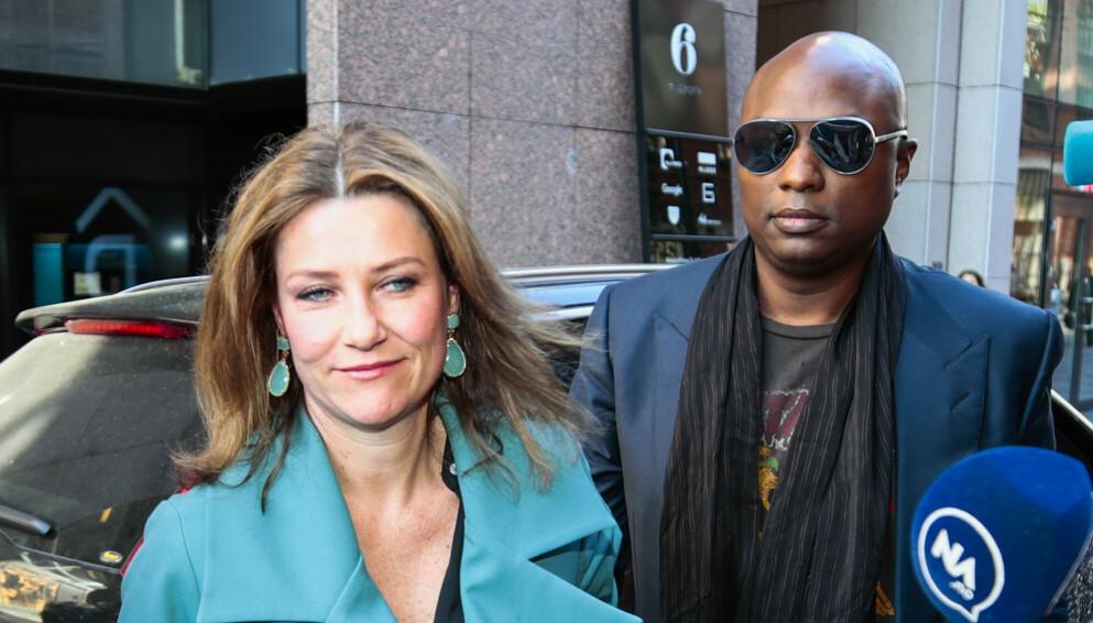 OMSTRIDT: Durek Verrett har gjentatte ganger fått tyn for påstander og uttalelser. Foto: Lise Åserud / NTB