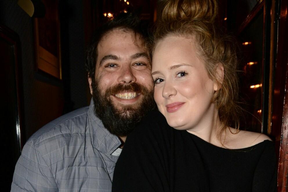 BRØT MED MANNEN: Adele Adkins avslører at det var hun som ønsket seg ut av ekteskapet med Simon Konecki. Bildet er tatt i 2013. Foto: Richard Young/REX/NTB