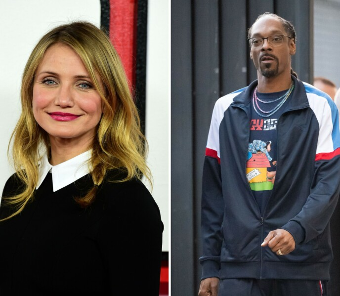 GIKK I SAMME GANG: Det er kanskje ikke så mange som vet at Cameron Diaz og Snoop Dogg gikk på samme skole? Foto: Ian West / Pa Photos / Shutterstock Editorial / REX / NTB