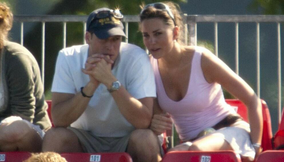 SAMME SKOLE: Prins William og hertuginne Kate gikk faktisk på samme skole tilbake i 2001. Her er de avbildet i 2005. Foto: REX / NTB