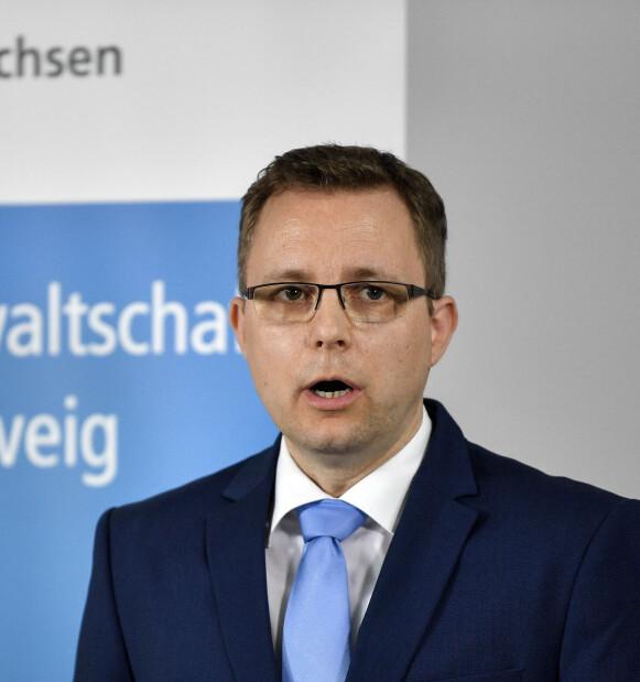 PÅTALELEDER: Hans Christian Wolters hevder at politiet nå har tilstrekkelig med bevis for å ut tiltale mot den mistenkte mannen. Foto: NTB / AP Photo / Martin Meissner