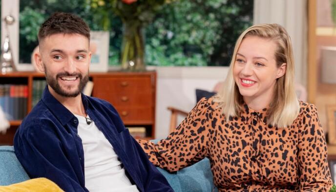 VIL UTVIDE FAMILIEN: Tom og Kelsey Parker ønsker seg et barn til. Foto: Ken McKay/ITV/NTB