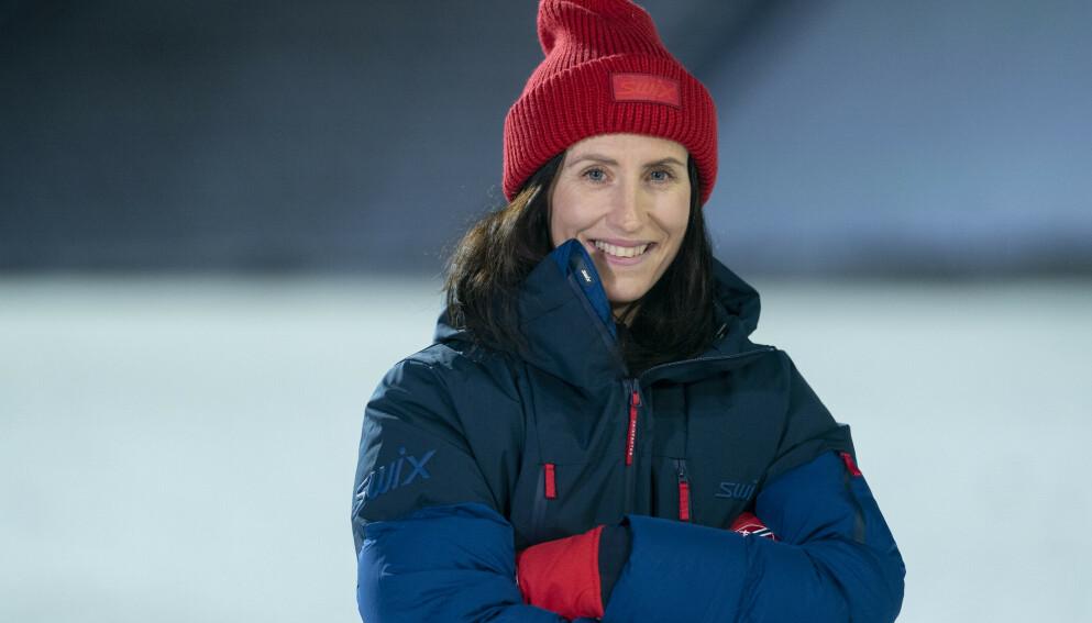 BOKAKTUELL: Marit Bjørgen hadde stor suksess med ski på beina. Nå kommer biografien om hele Norges skihelt. Foto: Fredrik Hagen / NTB