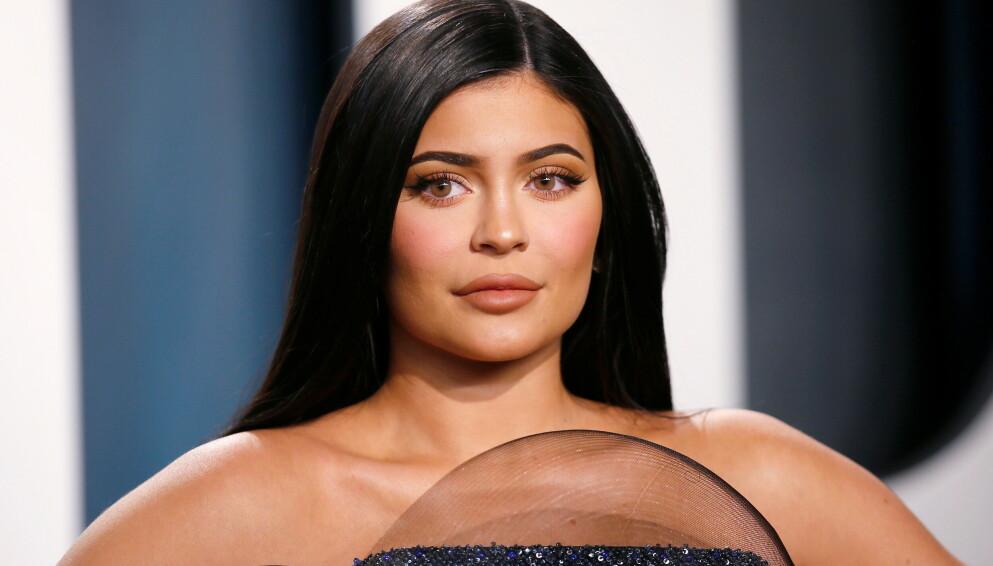 FÅR KRITIKK: Kylie Jenner får nok en gang hard medfart for en bilde publisert i sosiale medier. Foto: REUTERS/Danny Moloshok/File Photo/NTB