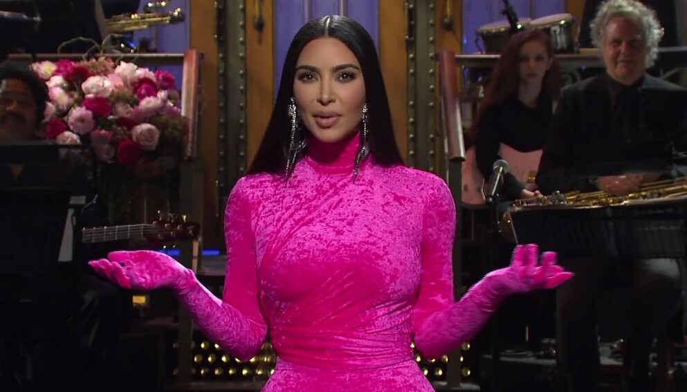 SNL-VERT: Kim Kardashian ledet «Saturday Night Live» i helgen. Foto: Ruba/Backgrid/NTB