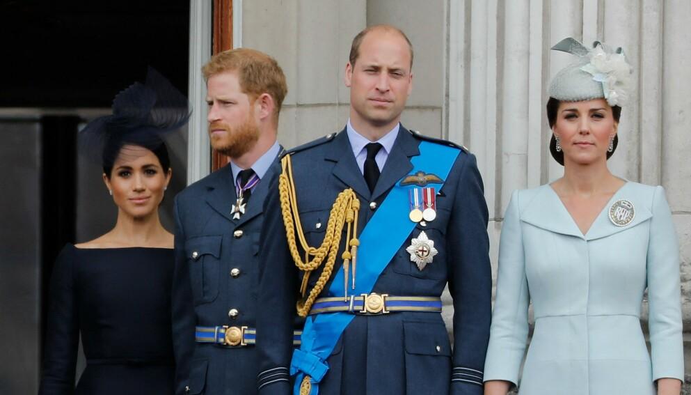 DROPPER HVERANDRE: Prins William og prins Harry vil tilsynelatende ikke dukke opp på hverandres arrangementer og feiringer. Foto: Tolga Akmen / AFP / NTB