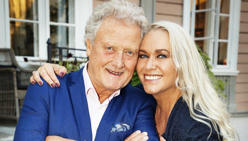 KVITTET SEG MED HUSET: Dan Børge Akerø og kona Mette har fått solgt eiendommen på Fagerborg i Oslo - ett år etter at den først havnet på markedet. Foto: Tore Skaar / Se og Hør