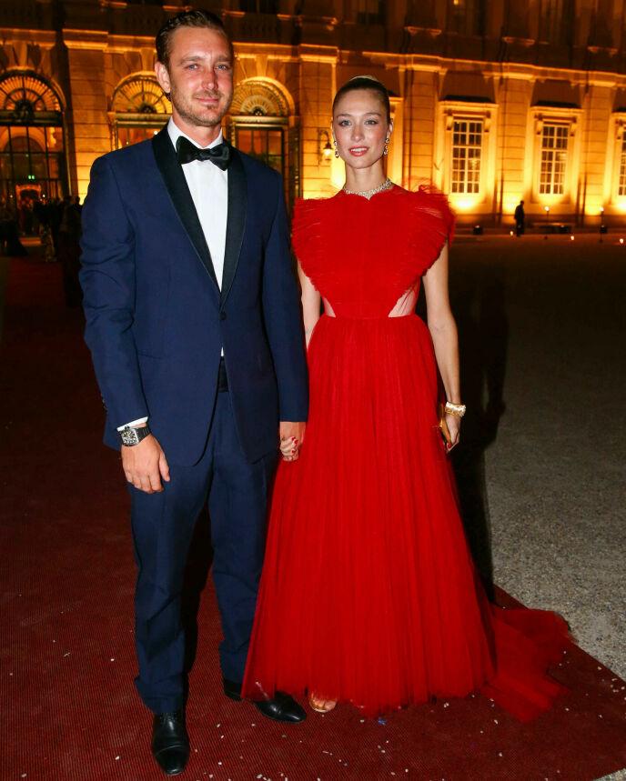 STILSIKRE: Pierre og Beatrice er begge ambassadører for Dior. Foto: Willi Schneider/People Picture/Shutterstock/NTB