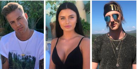 Image: Dette er årets fire første deltakere i «Paradise Hotel»
