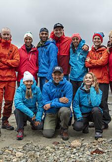 Image: Årets deltakere i «71 grader nord»
